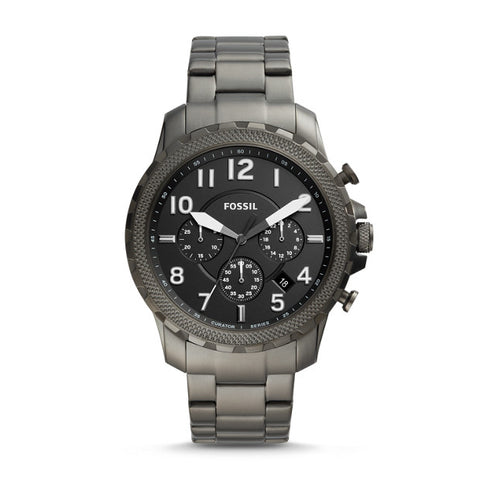 LIMITED EDITION CURATOR SERIES CHRONOGRAPH BLACK STAINLESS STEEL WATCH