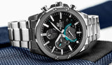 Casio Edifice Super Slim Solar Powered Chronograph With Bluetooth