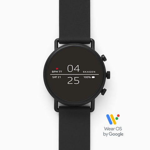 Smartwatch Black Silicone