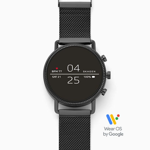 Smartwatch Black Magnetic Steel-Mesh