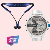 COMBO LEVEL U BLUETOOTH HEADSET WITH SMARTWATCH