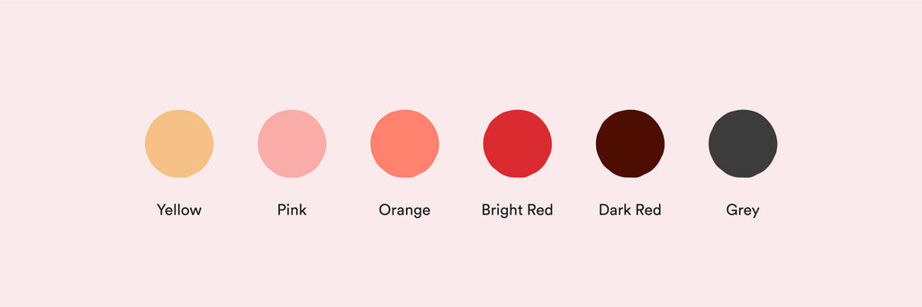 Period blood colour meanings: What your blood can tell you about your cycle