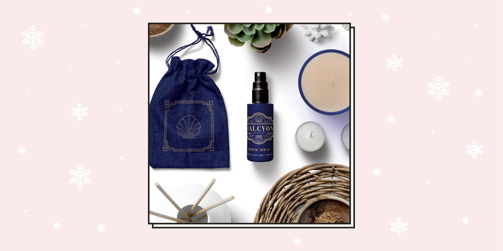 Halcyon Naturals' Holiday Room Mist