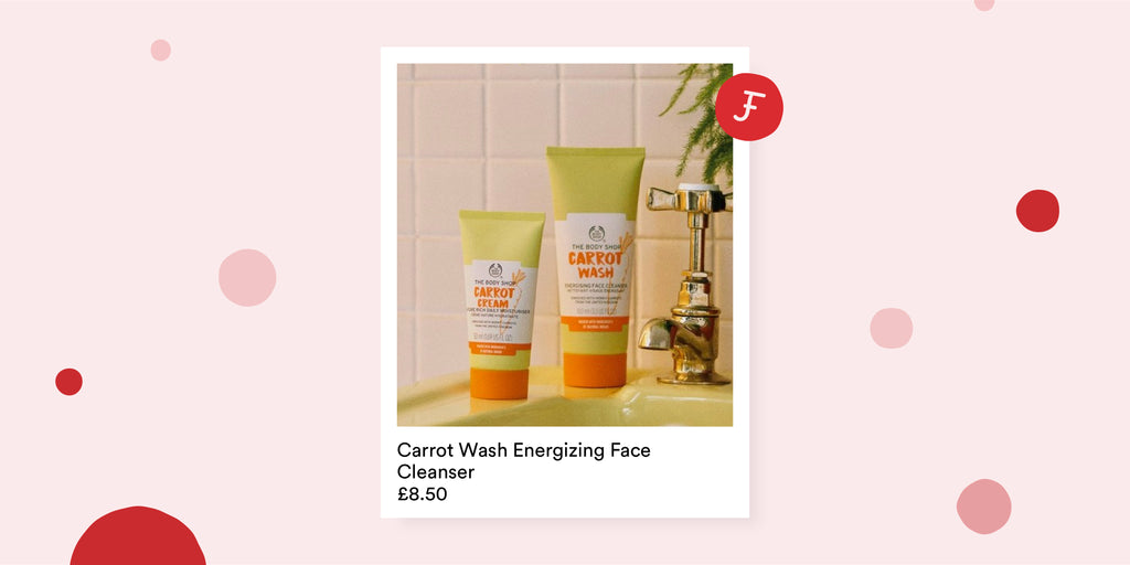 The Body Shop's Carrot Wash Energising Face Cleanser