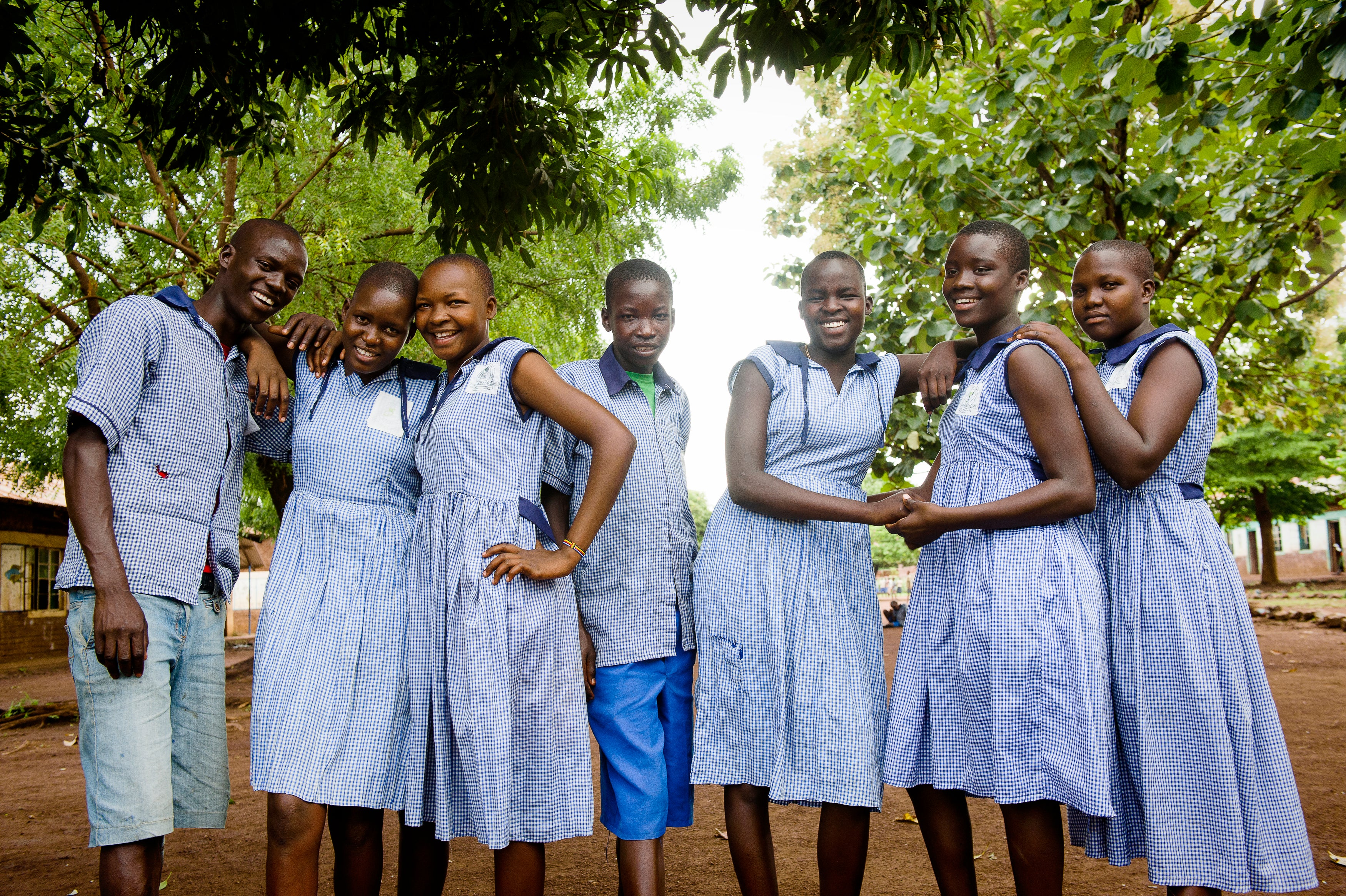 The WASH club at St Mary's School in Uganda