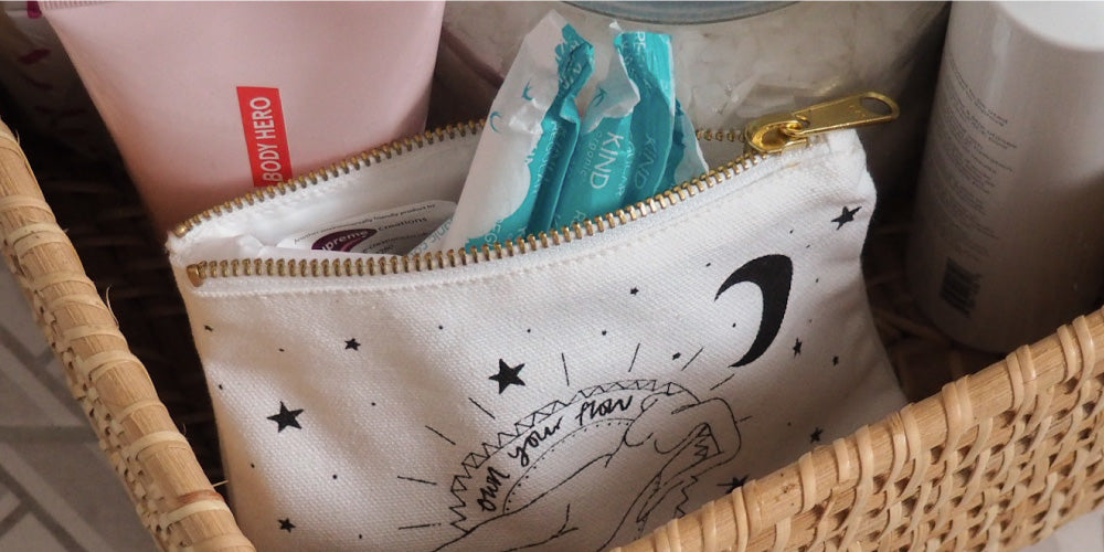 Fempowered toiletry bag
