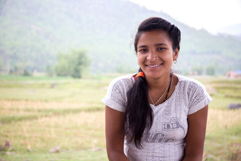 Sushma, a 17 year-old girl from Nepal who faced huge restrictions when she started her period.
