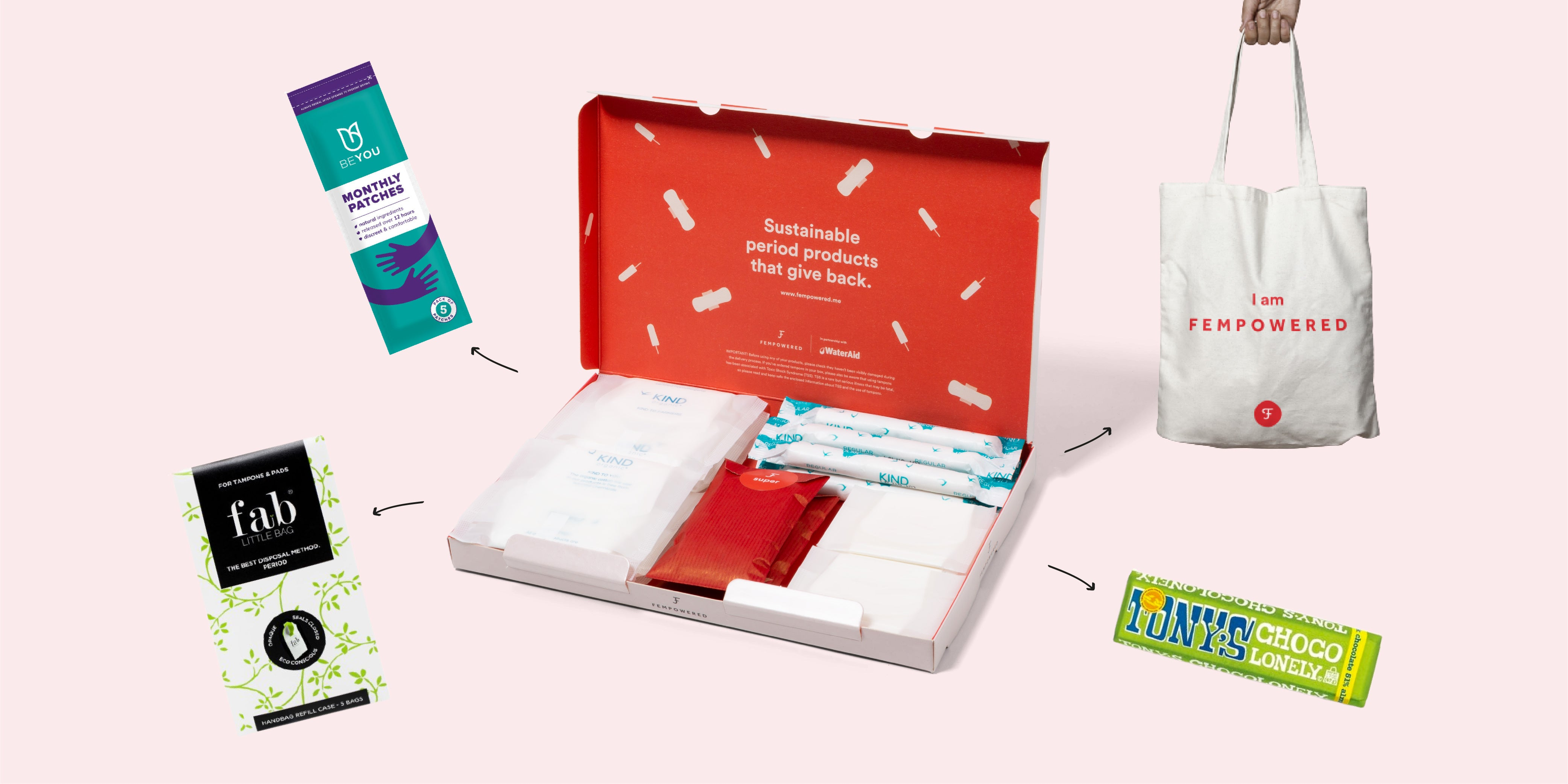 Flow On The Go kit from Fempowered