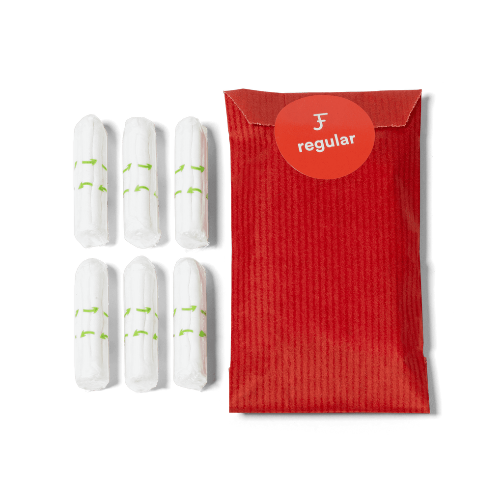 Non-Applicator Tampons - Regular