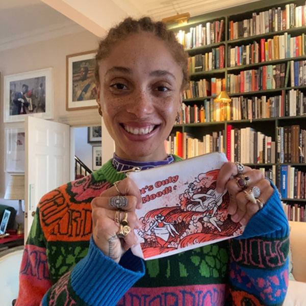Adwoa Aboah for Fempowered Toiletry Bag