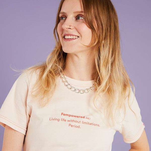 'Fempowered (adj.)' Box Crop Tee