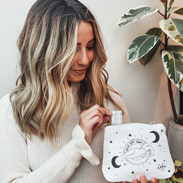 Zoe Sugg for Fempowered Toiletry Bag