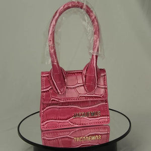 Jacquems Mini Purse (Pink)