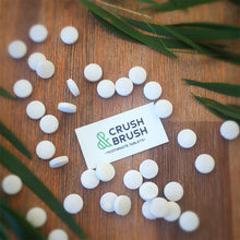 Load image into Gallery viewer, Nelson Naturals: Crush and Brush Toothpaste Tablets