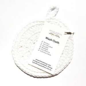 Boho Things: Biodegradable Wash Cloths