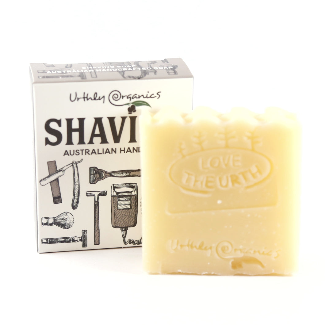 Urthly Organics: Shaving Soap