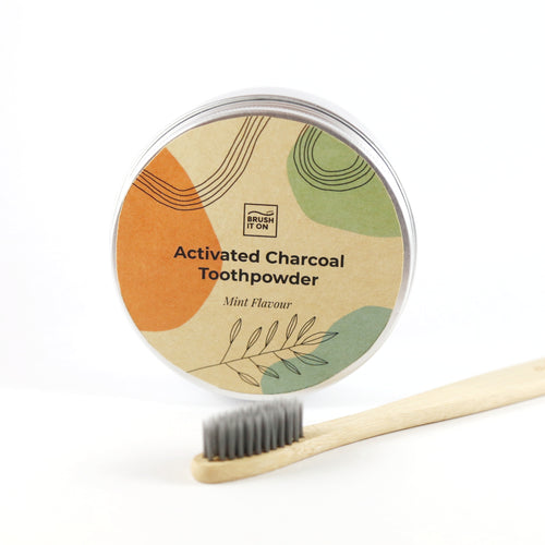 Brush It On: Charcoal Tooth Powder