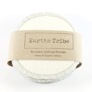 Earths Tribe: Reusable Make-up Wipes / Facial Rounds