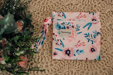 Load image into Gallery viewer, Square shaped floral printed wet bag