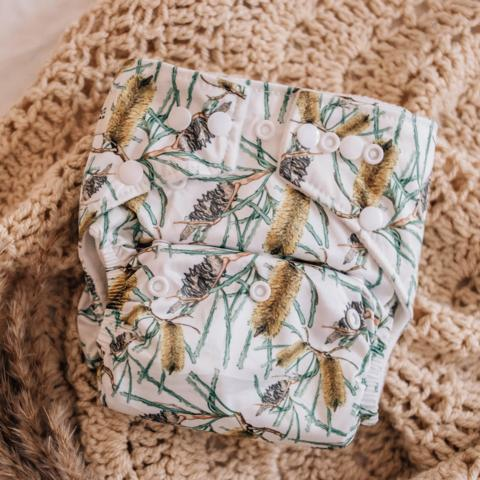 My Little Gumnut: Modern Cloth Nappy - Banksia