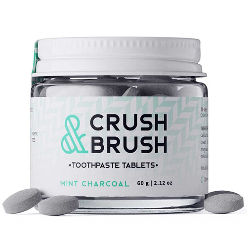 Nelson Naturals: Crush and Brush Toothpaste Tablets