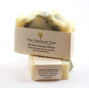 The Hazelnut Tree: Soap- Mediterranean Blend