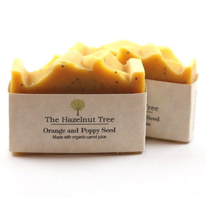 The Hazelnut Tree: Soap- Orange and Poppyseed