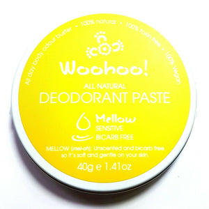 Woohoo Natural Deodorant Paste Tin/Tubes