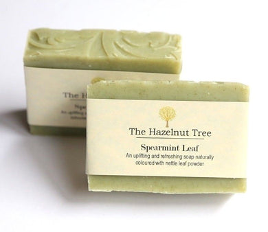 The Hazelnut Tree: Soap- Spearmint Leaf