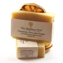Load image into Gallery viewer, The Hazelnut Tree: Soap- Cinnamon, Clove and Orange