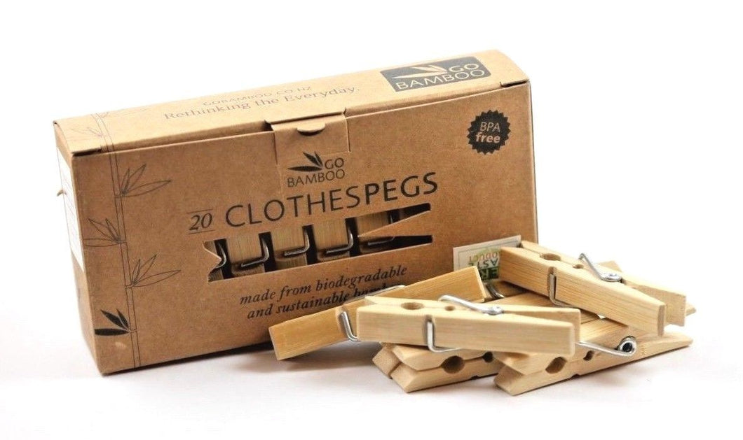 Go Bamboo: Clothes Pegs