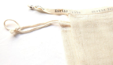 Earths Tribe: Cotton Mesh Produce Bags (x2) - Large