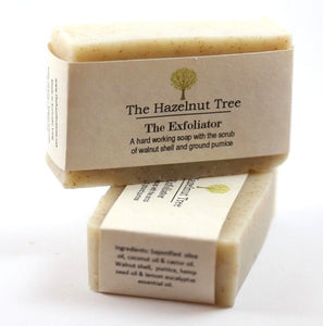 The Hazelnut Tree: Soap- The Exfoliator