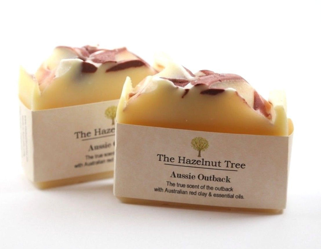 The Hazelnut Tree: Soap- Aussie Outback