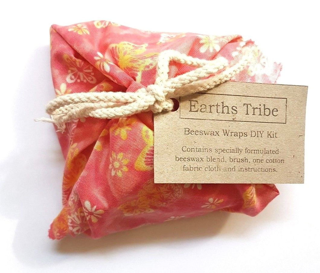tied up bundle of fabric