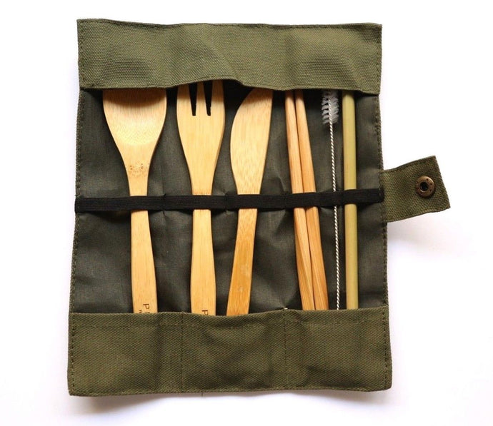 Perky By Nature: Bamboo Cutlery Set