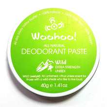 Load image into Gallery viewer, Woohoo Natural Deodorant Paste Tin/Tubes