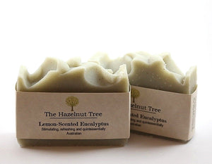 2x pale green soaps