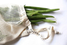 Load image into Gallery viewer, Earths Tribe: Cotton Mesh Produce Bags (x2) - Small