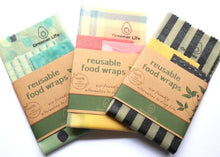 Load image into Gallery viewer, Greener Life: Vegan Reusable Wax Wrap