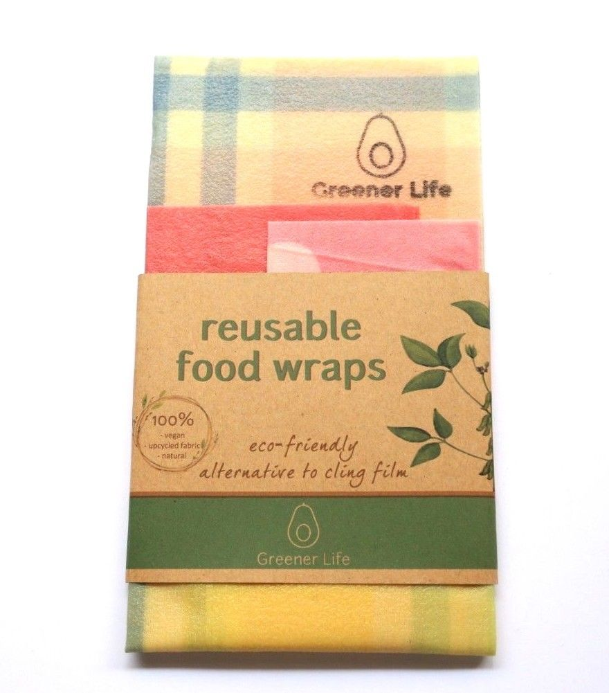 Greener Life: Vegan Reusable Wax Wrap
