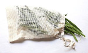 Earths Tribe: Cotton Mesh Produce Bags (x2) - Small