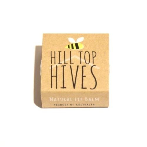 Hill Top Hives: Natural Beeswax Lip Balms