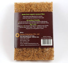Load image into Gallery viewer, single coconut fibre scourer