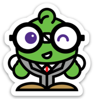 Biz Nerdy Sticker