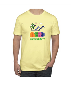 Pixel Nerdy NERD Summit 2019 T-Shirt