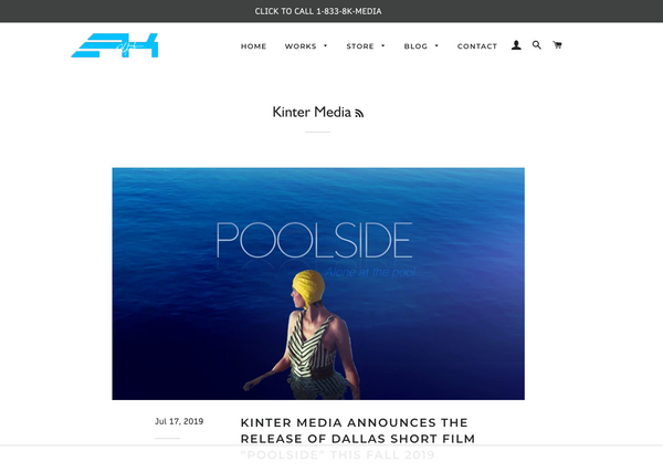 Kinter Media - Dallas Video Production | Blog Media RSS Feed Updates