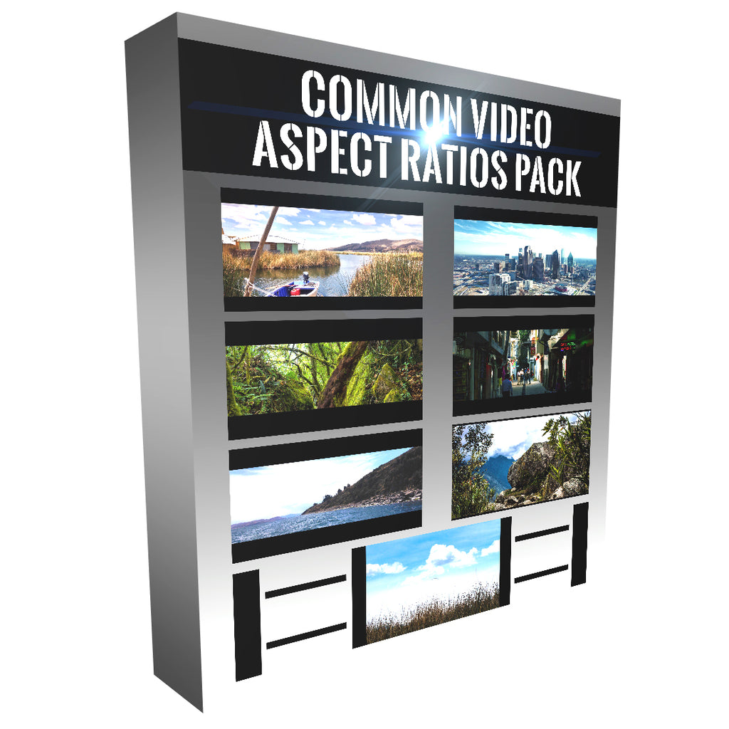 Common Aspect Ratios - Matte Overlays | Alex Kinter