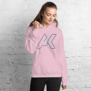 Alex Kinter Dallas Dubstep AK Logo EDM Unisex Hoodie - Light Pink / S - Hoodies