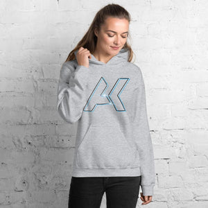 Alex Kinter Dallas Dubstep AK Logo EDM Unisex Hoodie - Sport Grey / S - Hoodies